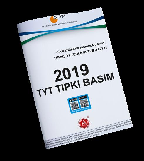 A Yayınları 2019 Tyt Tıpkı Basım