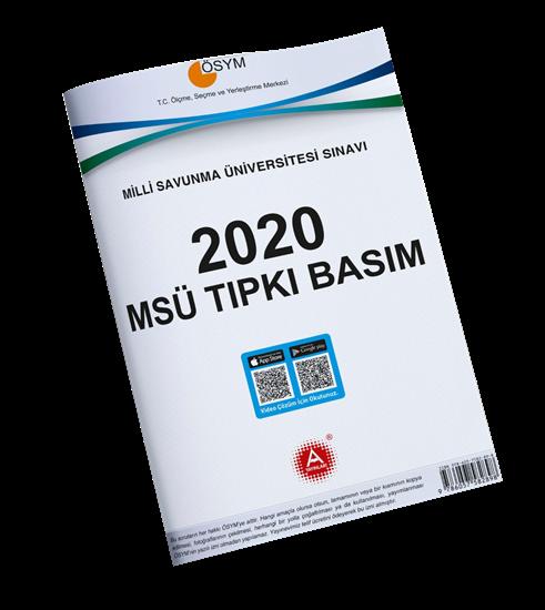 A Yayınları 2020 Msü Tıpkı Basım