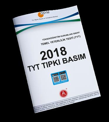 A Yayınları 2018 Tyt Tıpkı Basım