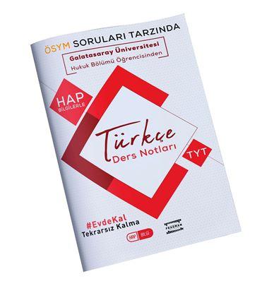 FRAGMAN Galatasaray Üniversitesi Öğrencisinden Tyt Türkçe Hap Bilgi Ders Notları