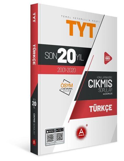 A Yayınları Tyt Türkçe Son 20 Yıl  Konularına Göre Çıkmış Sorular
