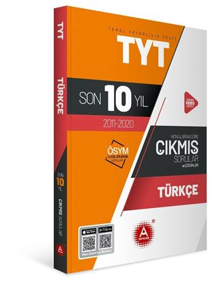 A Yayınları Tyt Türkçe Son 10 Yıl  Konularına Göre Çıkmış Sorular