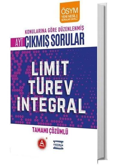 A Yayınları Ayt Limit Türev İntegral Tamamı Çözümlü Konularına Göre Ç.s