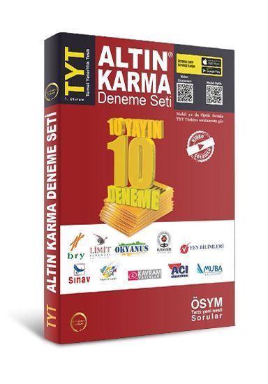 TYT 10 Farklı Yayın 10 Farklı Deneme Altın Karma