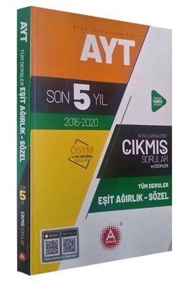 A Yayınları Ayt  Tüm Dersler Konularına Göre Eşit Ağırlık (5 Yıl Soru Ve Çözümleri)-200 Syf
