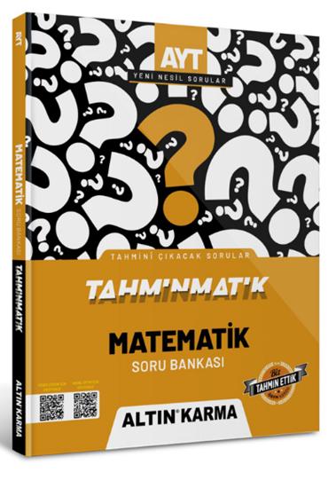 resm Altın Karma 2022 Ayt Matematik Soru Bankası