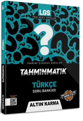 Altın Karma 2022 Lgs 8.sınıf Türkçe Soru Bankası