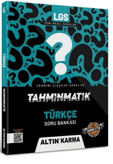 resm Altın Karma 2022 Lgs 8.sınıf Türkçe Soru Bankası