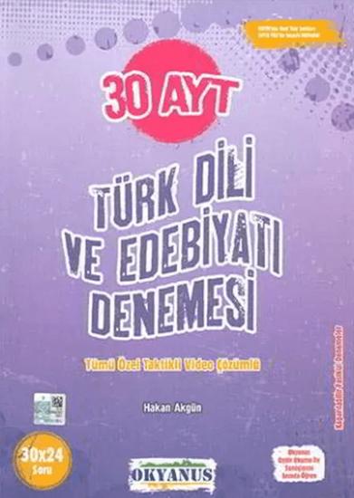 resm Okyanus Ayt 30 Türk Dili Ve Edebiyatı Denemesi