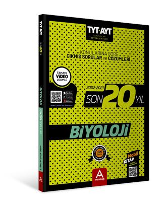 Tyt Ayt Biyoloji Son 20 Yıl Soru Ve Çözümleri